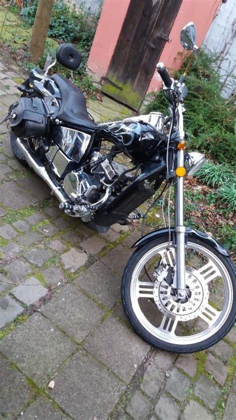 125er Motorrad Chopper by 125er Chopper Harley Feeling In Eggenstein Leopoldshafen