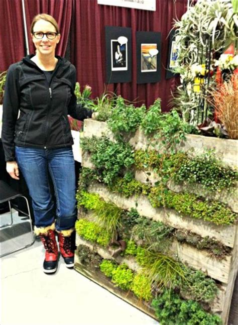 Make A Vertical Garden Creating A Pallet Garden Step By Step Don