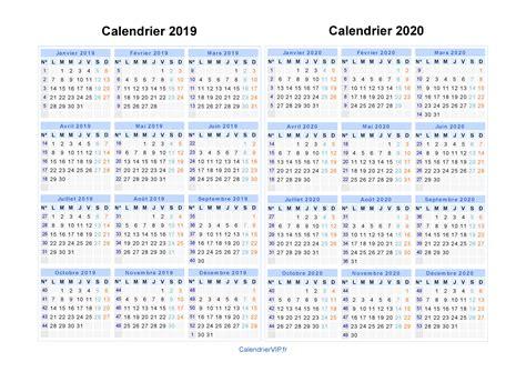 Calendrier 2019 Juillet Calendrier 2019 2020 224 Imprimer Gratuit En Pdf Et Excel