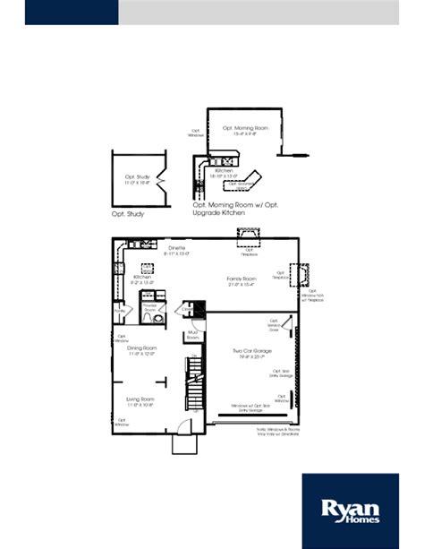 naples floor plan naples ryan home floor plan home plan