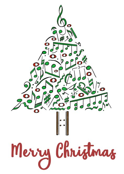 musical notes christmas tree image musical notes tree card by goldenyakstudio on newgrounds