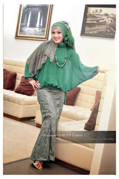Promo Baju Gamis Pesta P N Fashion Pn Gm0942 Green busana muslim koleksi terbaru