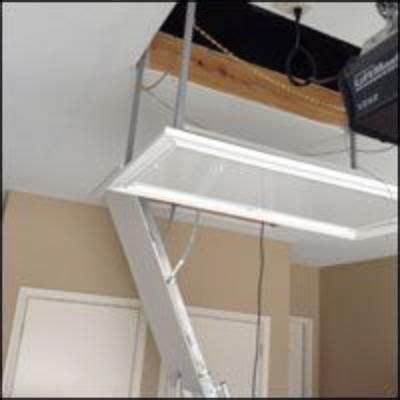 best 25 attic lift ideas on garage lift