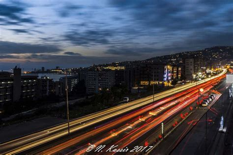 clouds traffic light trails cars ngconassignment lebanon