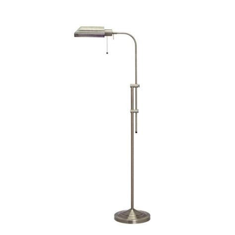 pharmacy floor l with adjustable pole solid brass floor l bellacor solid brass floor light