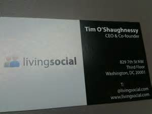 founder business card my 2009 meeting with the ceo of livingsocial derek andersen