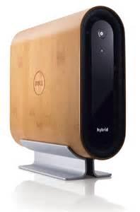 Modern Computer Desk dell studio hybrid bamboo tech savvy pinterest