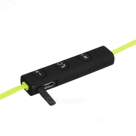 Power Sport Bluetooth Earphone With Microphone Kin 77 kin 77 portable ear hook sports bluetooth earphones yellow black free shipping dealextreme