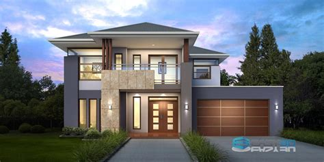 3d house 3d home architect rendering residential apartment house