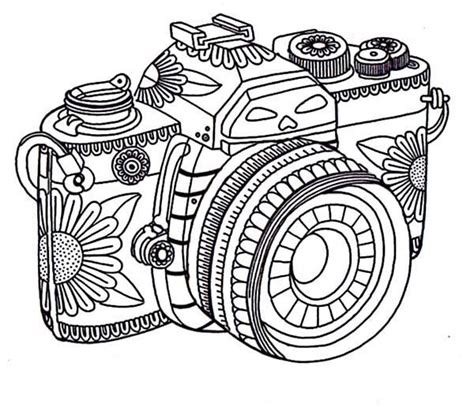 video camera coloring page camera book coloring pages