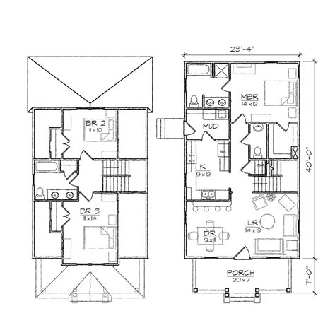 2 Story Bungalow Floor Plans | ashleigh ii bungalow floor plan tightlines designs