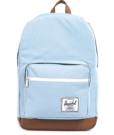 light pink herschel backpack herschel supply pop quiz steel blue 20l backpack