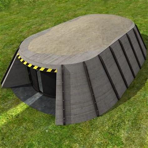 3d asset bunker garage cgtrader