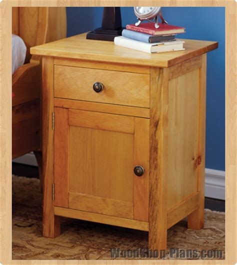 woodwork woodworking plans night stand  plans