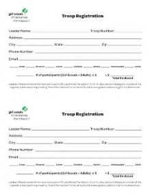 pdf registration form template registration form template fill printable