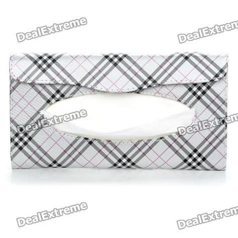 Tempat Tissue Mobil Visor Storage Holder Tissue Organizer Bag Visor pu leather car sun visor tissue paper holder dispenser box silver black free