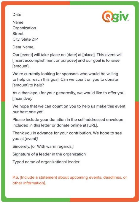Fundraising Letter To Employees asking for donations the nonprofit s guide free
