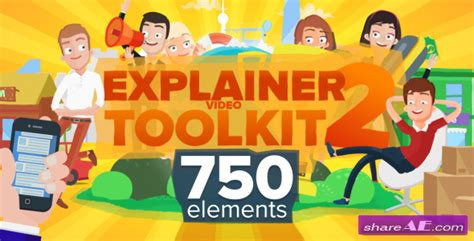 explainer video templates project for after effects videohive explainer video toolkit 2 after effects project videohive