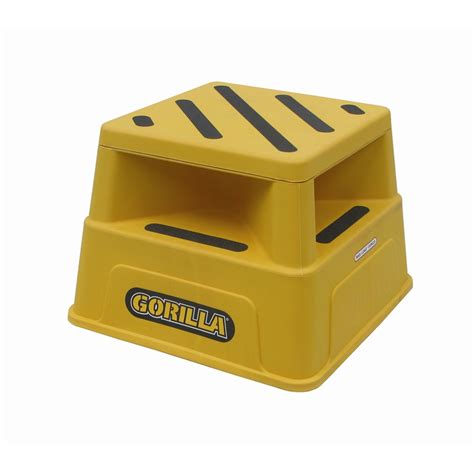 gorilla 150kg industrial safety step bunnings warehouse