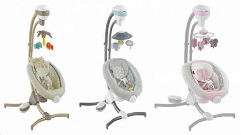 fisher price dwellstudio swing fisher price recalls thousands of infant swings due to