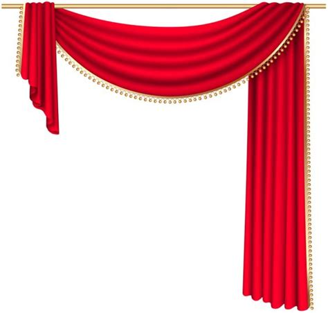 curtains clipart red curtain transparent png clip art image png jpg