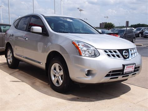 silver nissan rogue 2013 brilliant silver nissan rogue the eagle suv