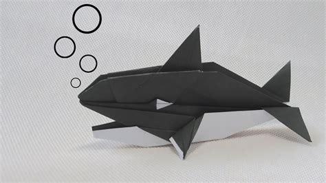 Origami Killer Whale - origami killer whale robert j lang montroll