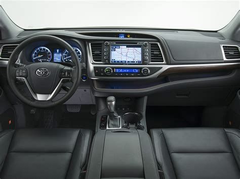 suv toyota inside 2014 toyota highlander price photos reviews features
