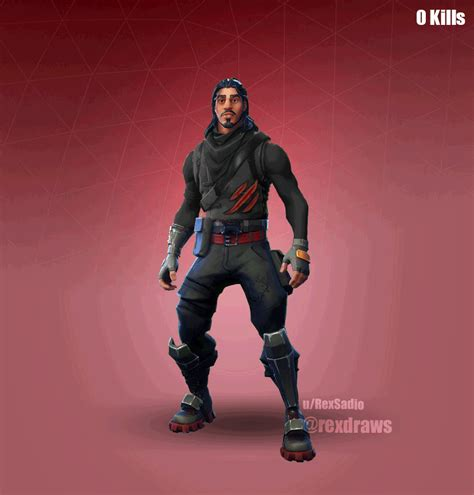 fortnite who made it fortnite fan shows cool evolving skin concept