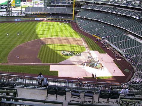 terrace level infield miller park baseball seating
