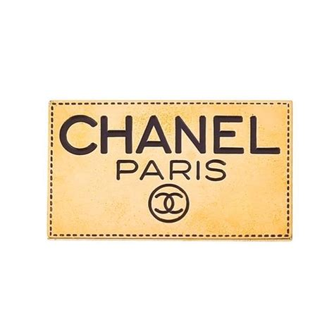 Chanel Logo L by Vintage Chanel Logo Brooch For Sale At 1stdibs