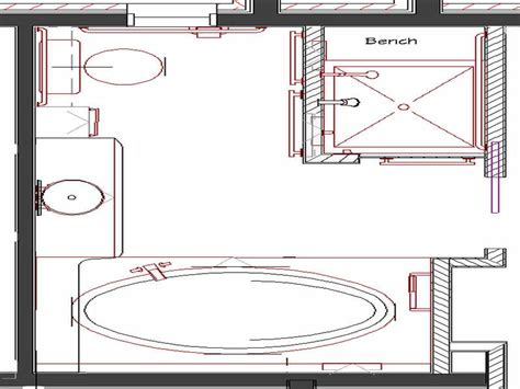 Bathroom Design Plans Inspiring Master Bathroom Floor Plans Photo House Plans