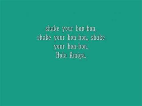 Shake Your Bon Bon by Ricky Martin Shake Your Bon Bon Lyrics