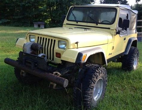 jeep islander 4 door buy used 1991 jeep wrangler islander sport utility 2 door