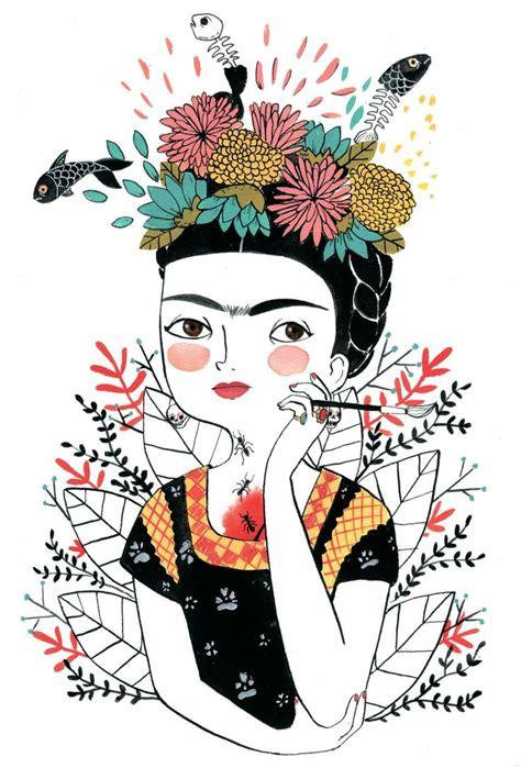 imagenes artisticas de frida kahlo m 225 s de 25 ideas incre 237 bles sobre dibujos de frida kahlo en