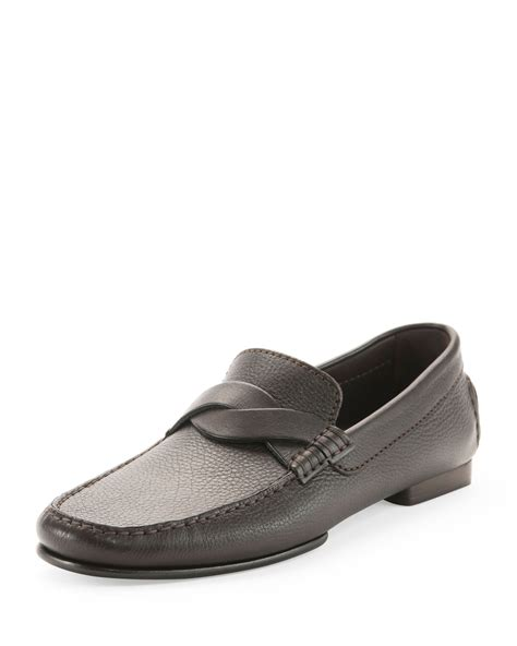 tom ford mens loafers tom ford grant twist driver leather loafer in brown for