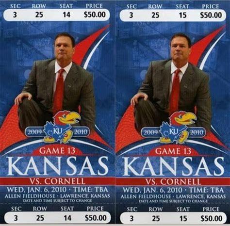 Ku Ticket Office tickets for the basketball season