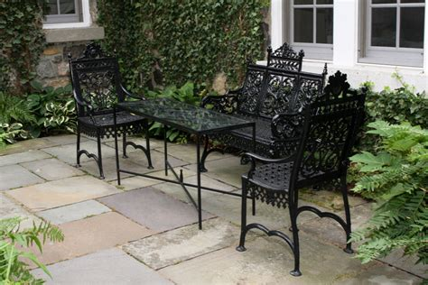 wrought iron patio furniture glides wrought iron garden furniture beautiful and durable
