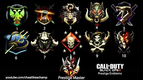 call of duty black ops 2 prestige image gallery prestige symbols