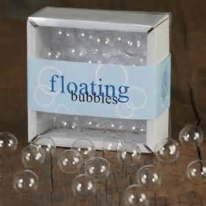 amazon com box of clear glass floating bubbles holiday