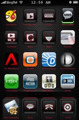 new themes apple iphone domination my new iphone theme apple edge icons