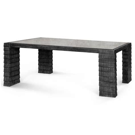 modern gray coffee table krug modern grey shingle antique glass coffee