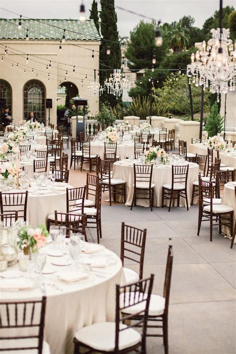 classy backyard wedding elegant outdoor wedding reception elizabeth anne designs