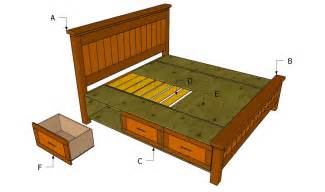 building a wooden bed frame how to build a platform bed frame with headboard the