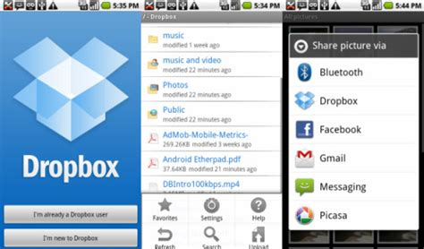 free dropbox app for android eric shaw journal on social mobile computing