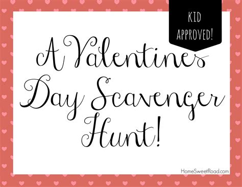 Oak Cabinet Kitchen by Scavenger Hunt Ideas Series Valentines Day Home Sweet Road