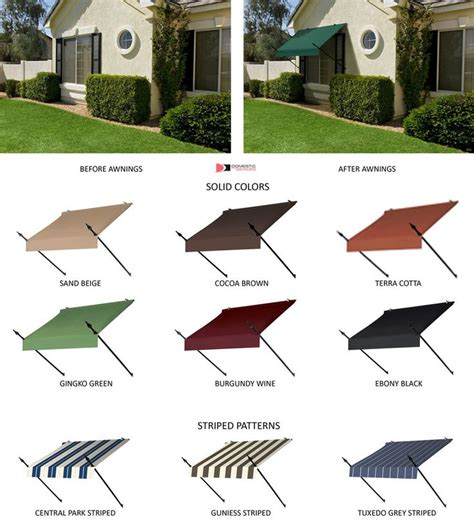 diy outdoor window awnings 127 best images about awnings i love on pinterest copper wrought iron and front doors