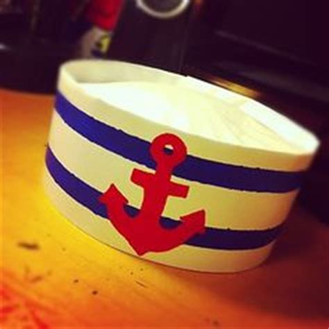 How To Make Sailor Hats Out Of Paper - 1000 images about coffee filters on coffee