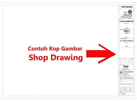 contoh gambar format swf contoh kop gambar shop drawing ilmusipil com