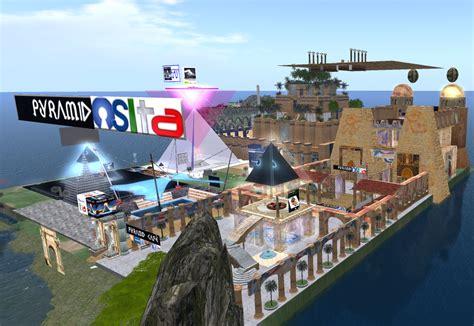 i giardini pensili di babilonia versione pyramid caf 232 opensim 0 7 6 i mondi virtuali open